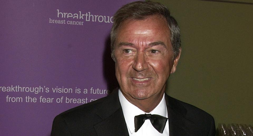 """Des O'Connor passed away at the age of 88 in November, one week after suffering a fall at his home. As well as <a href=""""https://uk.news.yahoo.com/tributes-paid-to-des-oconnor-102140384.html"""" data-ylk=""""slk:a deluge of tributes from others in the entertainment industry;outcm:mb_qualified_link;_E:mb_qualified_link;ct:story;"""" class=""""link rapid-noclick-resp yahoo-link"""">a deluge of tributes from others in the entertainment industry</a>, his agent said he was """"well loved by absolutely everybody"""" and """"loved life"""". (Photo by Dave Benett/Getty Images)"""