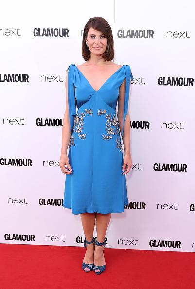 <p>The ever so glamourous Gemma looked lovely in this blue ensemble.<i> [Photo: Mike Marsland/Mike Marsland/WireImage]</i></p>
