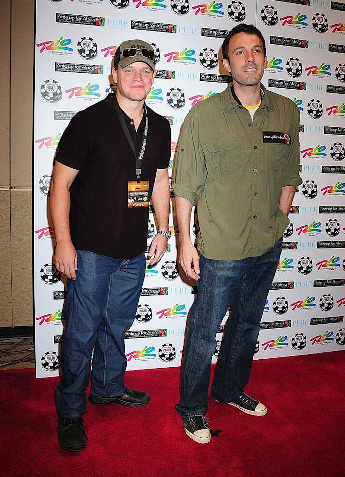 """Matt Damon and Ben Affleck burst onto the scene back in 1997 with """"Good Will Hunting."""" The childhood friends picked up Oscars for their original screenplay, and have been A-listers ever since. <a href=""""http://www.filmmagic.com/"""" target=""""new"""">FilmMagic.com</a> - July 2, 2009"""