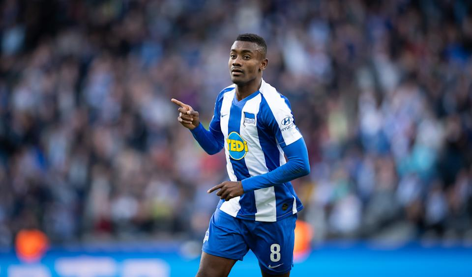 Salomon Kalou's high-profile misstep in skirting COVID-19 protocols is another reminder of how precarious the Bundesliga's resumption is. (Photo by City-Press via Getty Images)