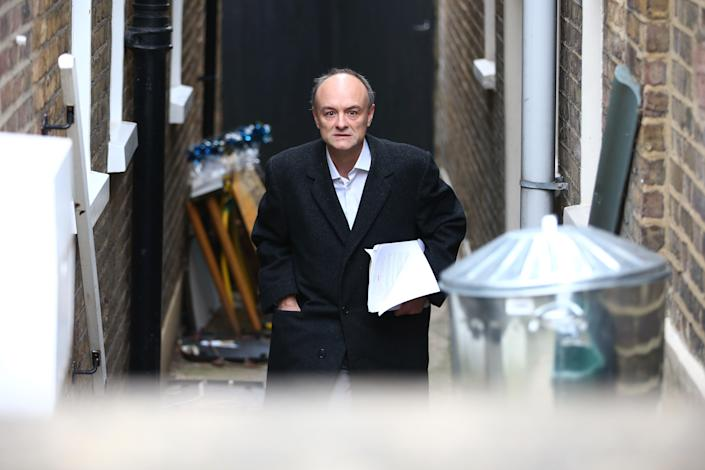 The prime minister's former chief adviser, Dominic Cummings (Getty Images)