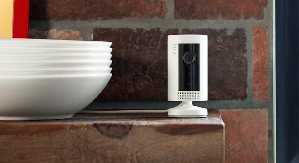 Ring Indoor Cam Smart Security Cam with Built in Wi-Fi receives glowing reviews from shoppers. (John Lewis & Partners)