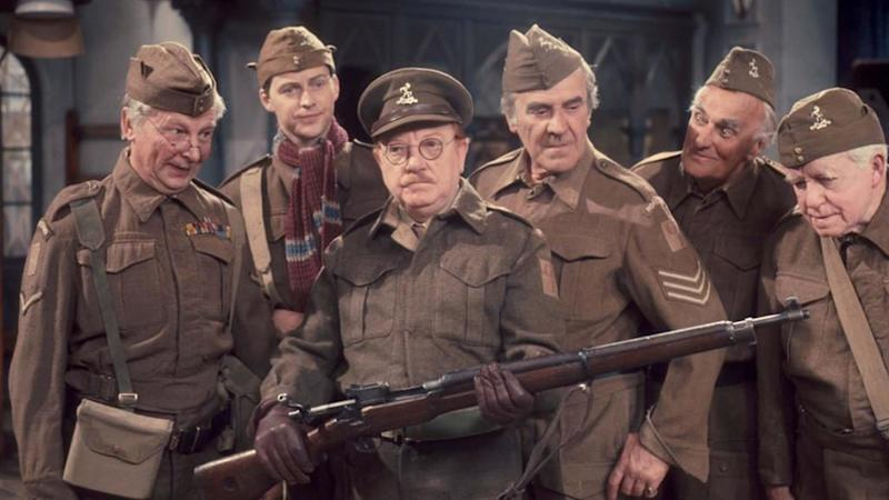 Legendary sitcom 'Dad's Army' ran from 1968 to 1977 on the BBC. (Credit: BBC)