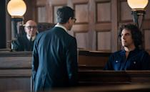 """<p>While Cohen has previously been <a href=""""https://people.com/movies/sacha-baron-cohen-says-he-revived-borat-because-he-felt-democracy-was-in-peril/"""" rel=""""nofollow noopener"""" target=""""_blank"""" data-ylk=""""slk:nominated for Best Screenplay"""" class=""""link rapid-noclick-resp"""">nominated for Best Screenplay</a> at the Oscars, he scored his first acting nomination for Best Supporting Actor for his role in <em>The Trial of the Chicago 7. </em></p>"""