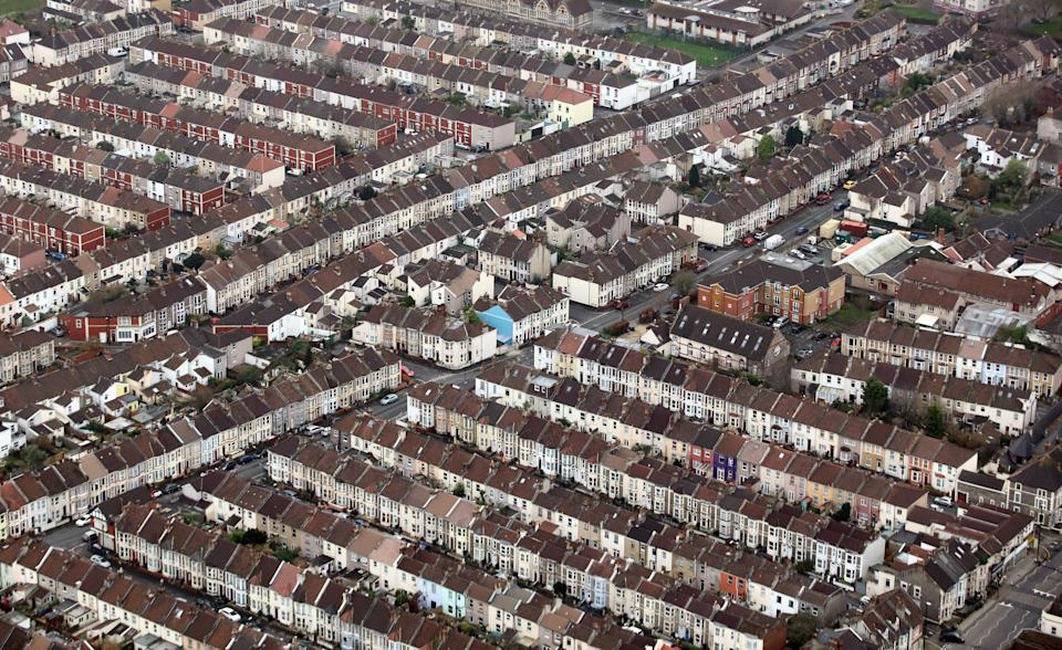 Rows of houses in Bristol, UK. Photographer: Chris Ratcliffe/Bloomberg/Getty