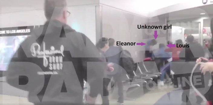 Eleanor cowers in a corner as she is attacked by a random girl [RADAR ONLINE]