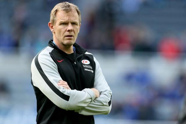Saracens director of rugby Mark McCall is preparing for life in the Championship next season (Richard Sellers/PA)