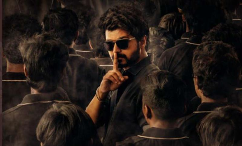 Vijay in a poster for Master. Image from Twitter