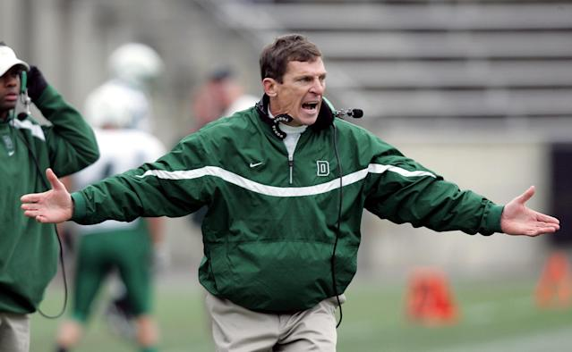 Ahead of his time: Dartmouth coach Buddy Teevens isn't afraid of thinking outside the box. (AP)