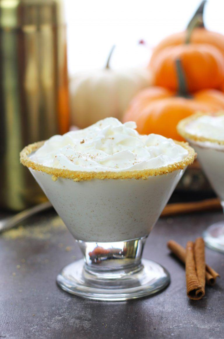 """<p>The only thing that would make this pumpkin pie martini better is enjoying it with a slice of...pumpkin pie, of course.</p><p><strong>Get the recipe at <a href=""""https://www.3yummytummies.com/tag/best-fall-cocktail/"""" rel=""""nofollow noopener"""" target=""""_blank"""" data-ylk=""""slk:3 Yummy Tummies"""" class=""""link rapid-noclick-resp"""">3 Yummy Tummies</a>.</strong></p><p><a class=""""link rapid-noclick-resp"""" href=""""https://go.redirectingat.com?id=74968X1596630&url=https%3A%2F%2Fwww.walmart.com%2Fip%2FLibbey-Cosmopolitan-Martini-Glasses-Set-of-4%2F385986634&sref=https%3A%2F%2Fwww.thepioneerwoman.com%2Ffood-cooking%2Fmeals-menus%2Fg33510531%2Ffall-cocktail-recipes%2F"""" rel=""""nofollow noopener"""" target=""""_blank"""" data-ylk=""""slk:SHOP MARTINI GLASSES"""">SHOP MARTINI GLASSES</a> </p>"""