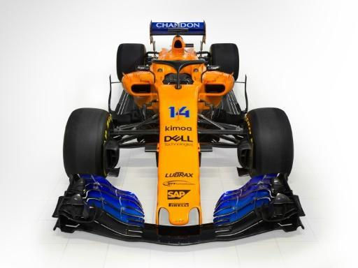 <p>Alonso 'excited' as McLaren unveil new F1 car</p>