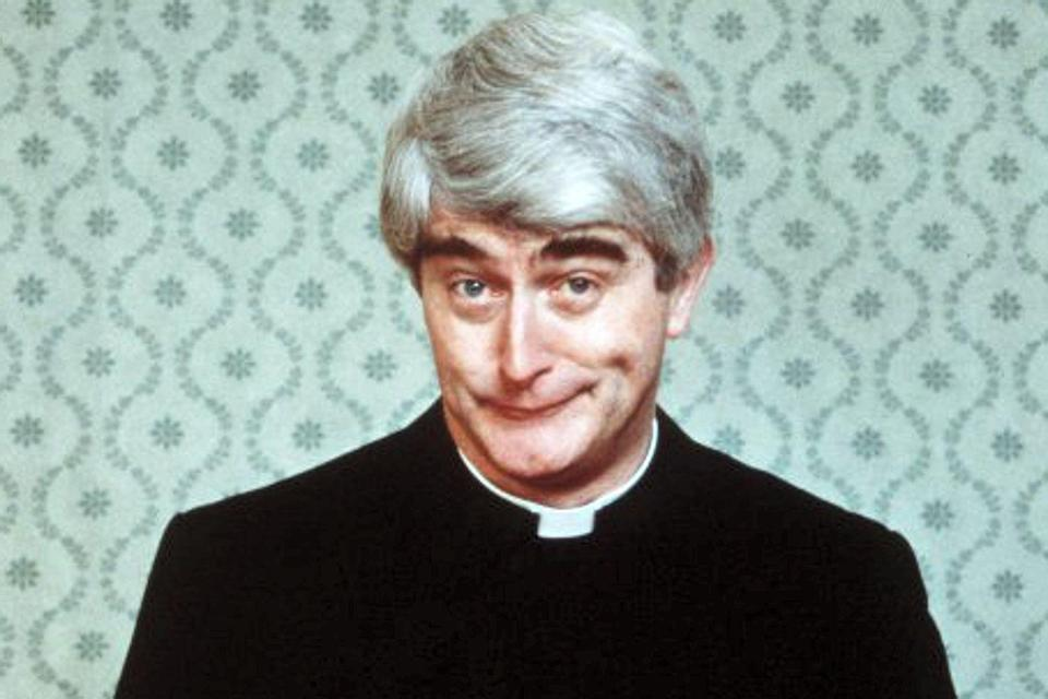 Dermot Morgan in Father Ted (Credit: Channel 4)