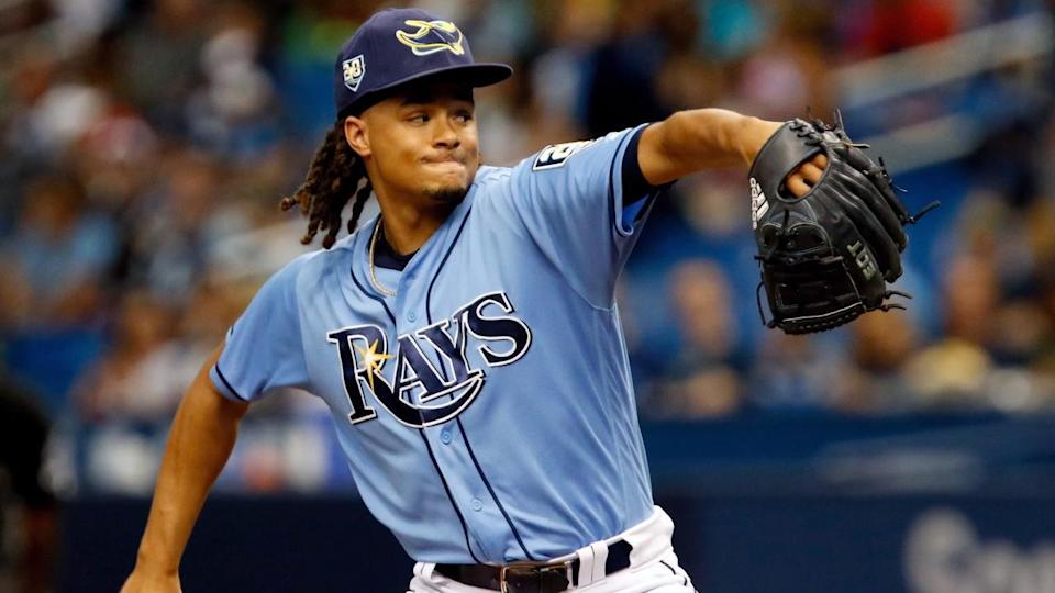The Tampa Bay Rays agreed to trade ace Chris Archer to the Pittsburgh Pirates at the trade deadline. (AP)
