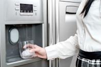 <p>Ice makers are convenient but they can also get quite dirty, which might affect how your ice tastes. You should be cleaning them at least twice a year, so if you've never done so, now is the time. </p><p><strong>How to clean</strong>: Unplug your refrigerator (don't worry, you don't need to take everything out), then pull out the ice bin, empty it, and clean it with warm soapy water. Check the filter - if it seems old, buy a new one (they should be replaced about every six months). Replace everything and run through a few cycles of ice. </p>
