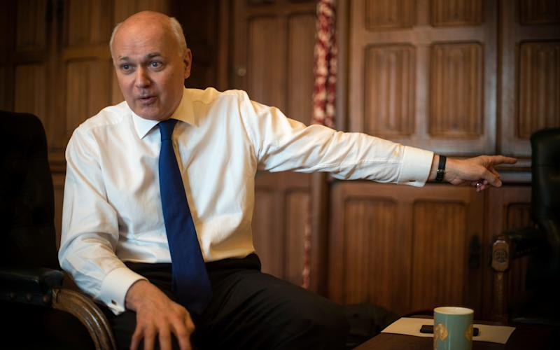 Iain Duncan Smith - Credit: Paul Grover for the Telegraph/Paul Grover for the Telegraph