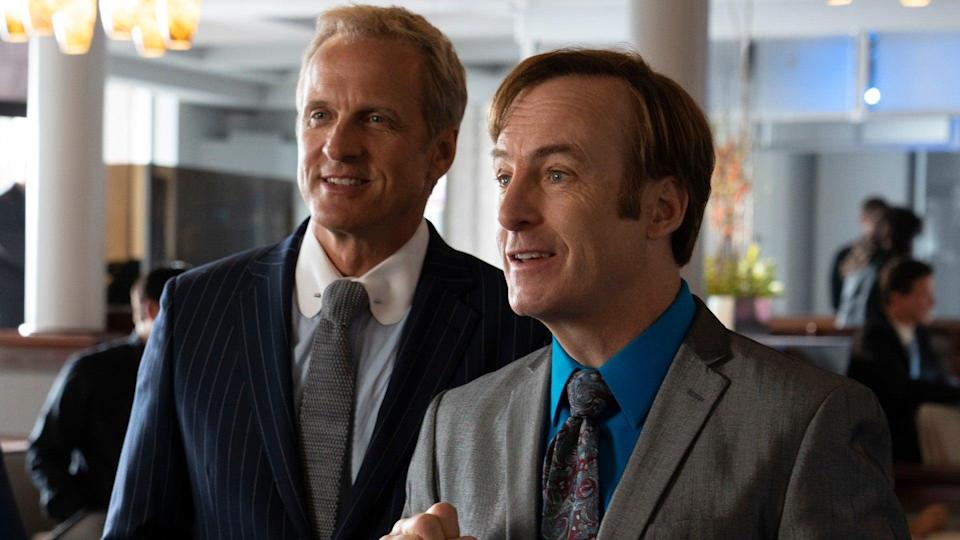 <p> <strong>Non-Netflix show available in UK/US</strong> </p> <p> Remember the screwy lawyer from Breaking Bad? This show&apos;s all about him - Saul Goodman. Things begin after the climactic events of that series, in the present day, and immediately jump back to before he became Saul. Six years prior he was known as Jimmy McGill. A likeable, good-hearted guy who dallies loosely with the law, he goes to bat for his low-income clientele with the help of fixer (and Breaking Bad regular) Mike Ehrmantraut. It&apos;s terrific getting to see the pair in their early days and discover what happened before Jimmy turned into Saul. </p> <p> It&apos;s hard to imagine a Breaking Bad spin-off being able to cap the brilliance of that groundbreaking series. Thanks to the superb performance by Bob Odenkirk, who delves into practically every emotional state in its first season alone, and Rhea Seehorn as Kim Wexler, it&apos;s just as good &#x2013; if not better. </p>