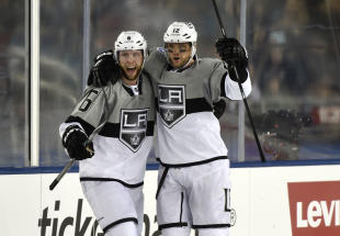 Marian Gaborik's goal was the difference as L.A. continues to torment San Jose. (Kyle Terada-USA TODAY Sports)