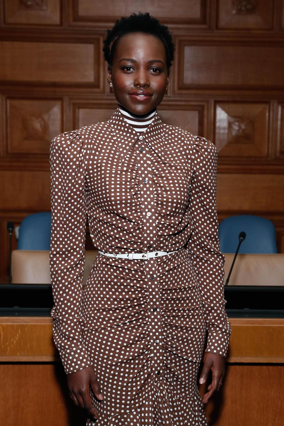 """<h1 class=""""title"""">In Conversation With Michael Kors, Lupita Nyong'o, And The World Food Programme At UN Headquarters</h1><cite class=""""credit"""">Photo: Getty Images</cite>"""