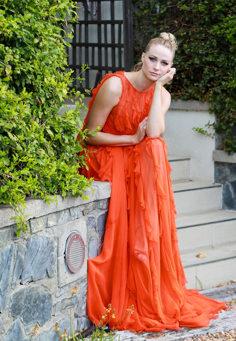 CAPE TOWN, SOUTH AFRICA - APRIL 11: Actress Niamh Algar nominated for best actress in a supporting role for