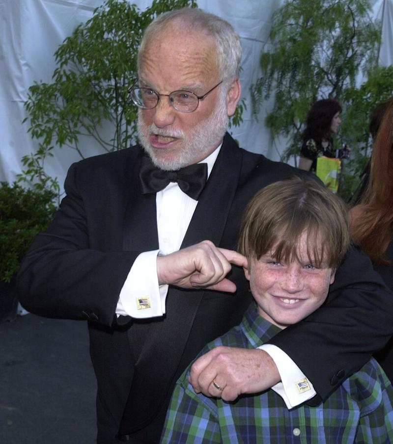 Richard Dreyfuss and his son Harry in 2000. Harry claims actor Kevin Spacey put his hand on his thigh and then on his genitals when he was 18 in 2008.