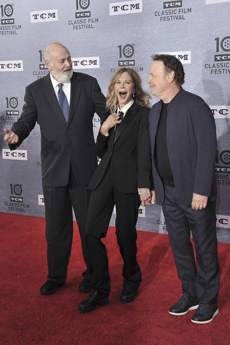 Rob Reiner, Meg Ryan und Billy Crystal