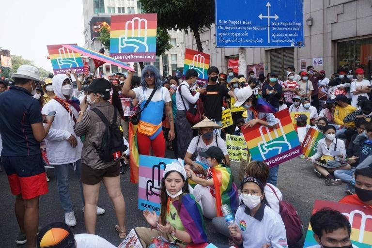 Myanmar's LGBTQ community have been making tentative attempts in recent years to step out into the open