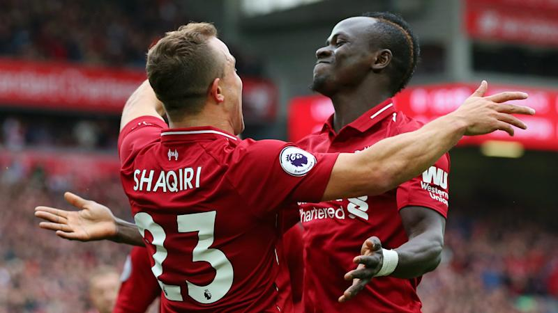 Shaqiri left out Liverpool's squad for Belgrade trip due to safety concerns