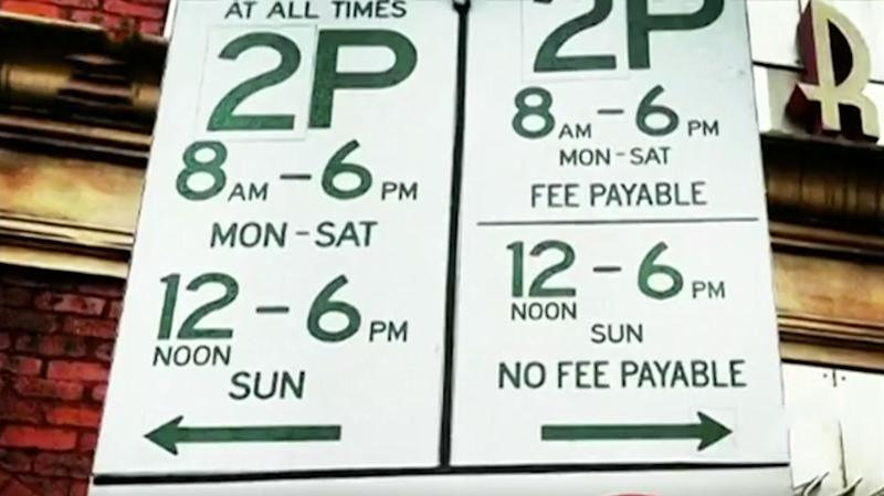 There could be some relief for drivers puzzled by Sydney's confusing parking signs with the government now pushing to reduce fines. Source: 7 News