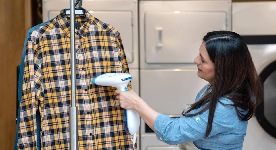 Why you should swap your iron for this steamer in 2021. (Getty Images)
