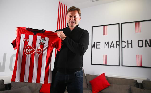 Ralph Hasenhuttl has spoken to the media for the first time as Southampton boss