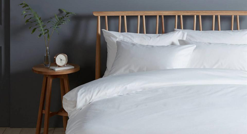These fast-selling bed sheets will keep you cool and comfortable. (John Lewis)