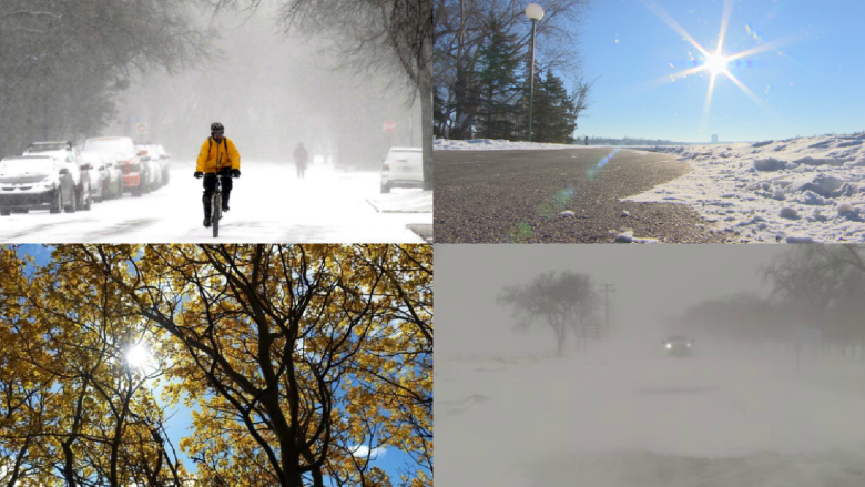 How Saskatchewan's roller-coaster winter compared to other years