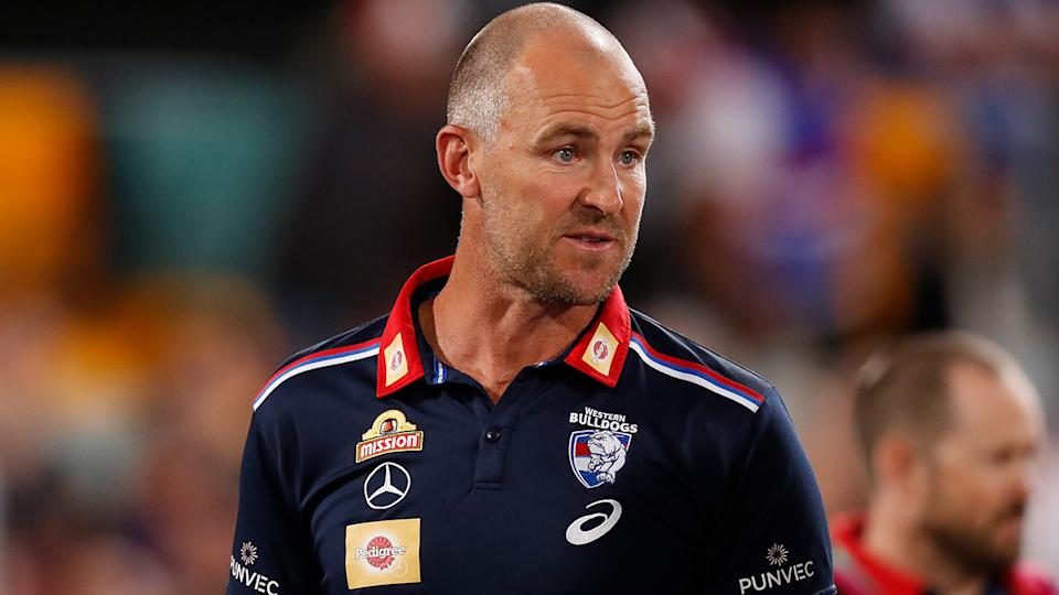 Highly rated assistant coach Steven King has been hired by the Gold Coast Suns, after an impressive tenure with the Western Bulldogs. (Photo by Michael Willson/AFL Photos via Getty Images)