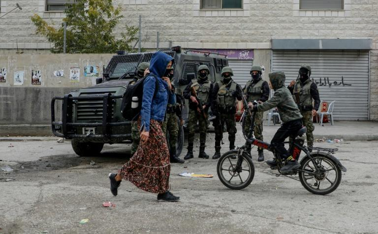 Daily life in Balata goes on under the watchful Gaza of the Palestinian security forces