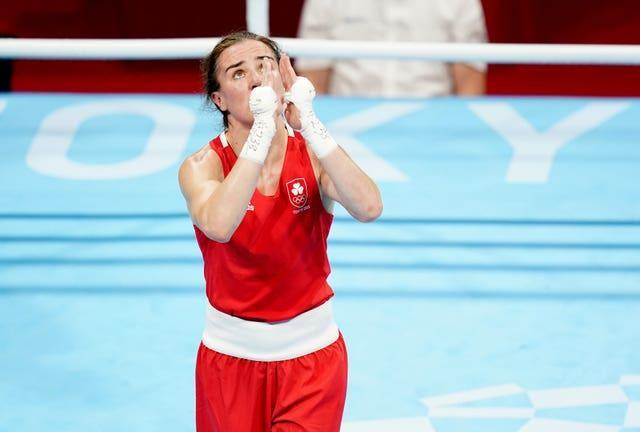 Kellie Harrington is into the final of the women's lightweight category (Adam Davy/PA)
