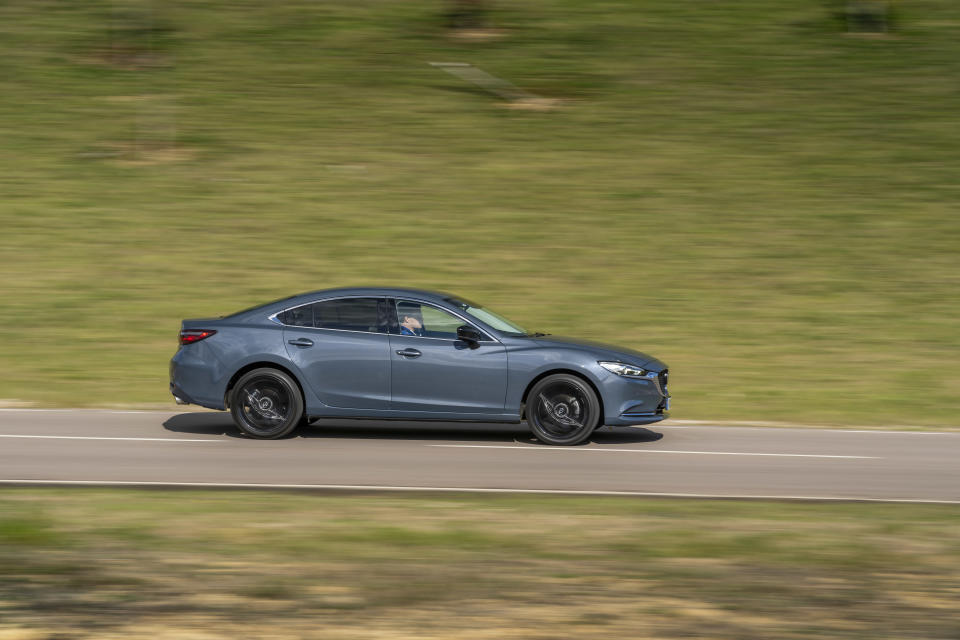 All Mazda6 Kuro Edition models come painted in Polymetal Grey