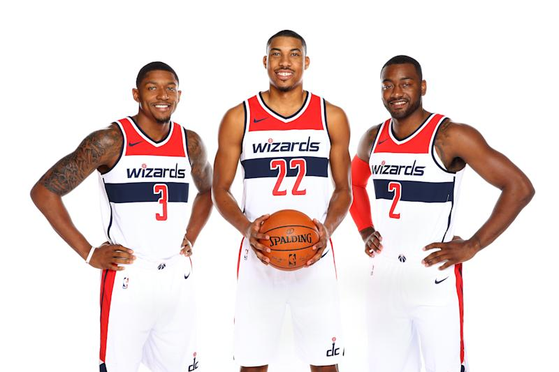The Wizards maxed out Bradley Beal, Otto Porter and John Wall. Now it's up to them to take Washington to great new heights. (Getty)