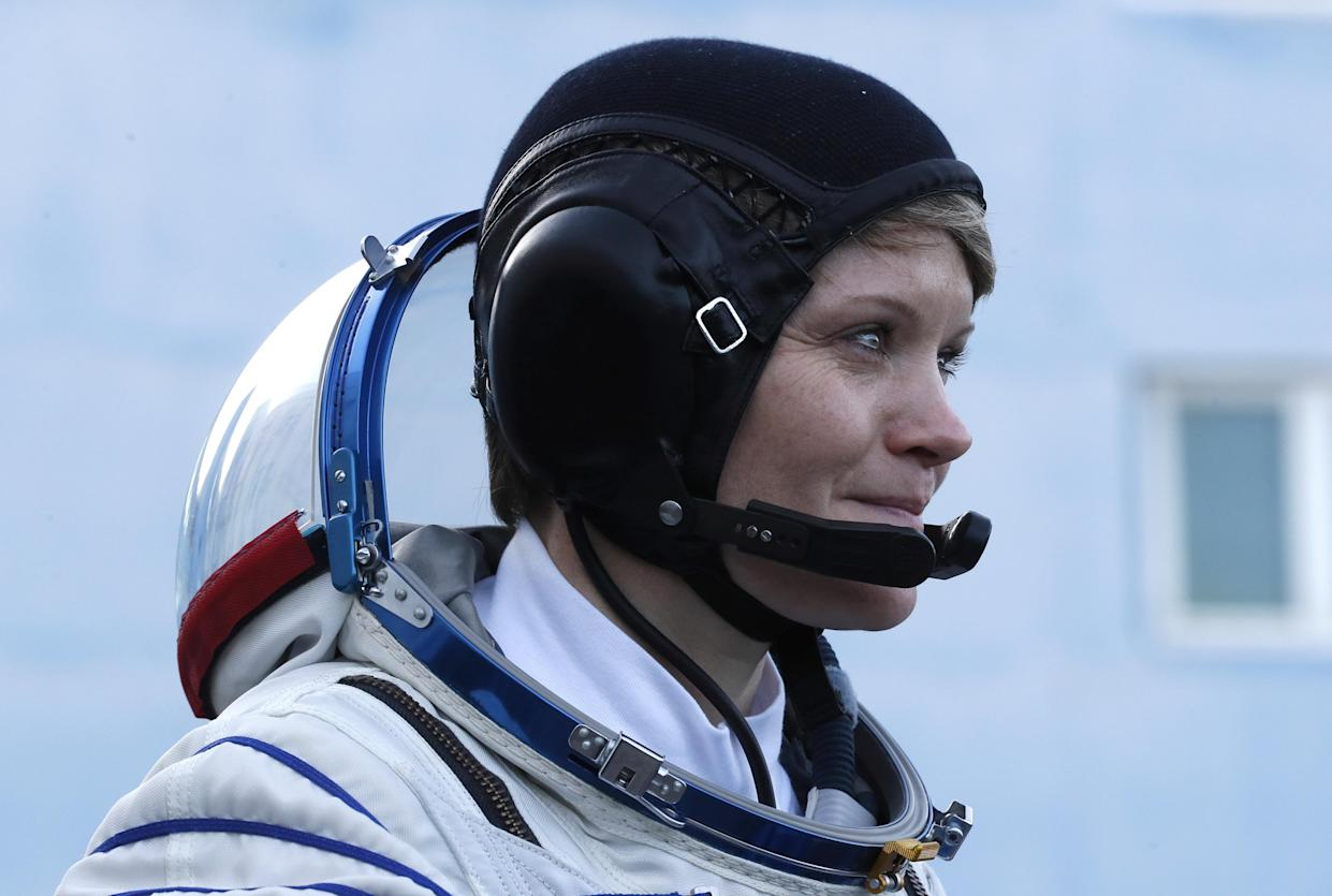 Anne McClain was at the beginning of the year six months aboard the International Space Station (photo: Reuters)