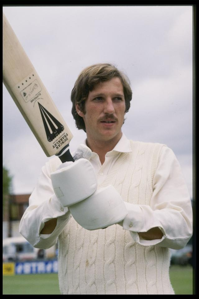 1977:  A portrait of Somerset and England All-rounder Ian Botham Mandatory Credit:Allsport UK