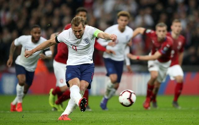 Harry Kane was spot on at Wembley (Nick Potts/PA)
