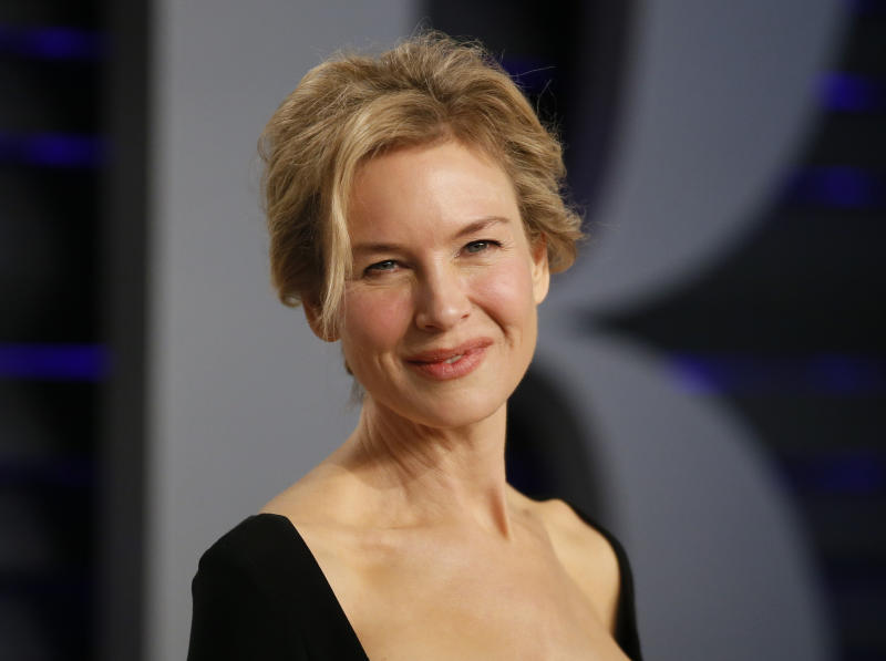91st Academy Awards – Vanity Fair – Beverly Hills, California, U.S., February 24, 2019 – Renee Zellweger. REUTERS/Danny Moloshok
