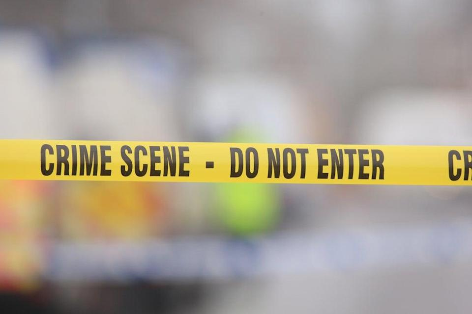 A generic stock photo of crime scene tape (Peter Byrne/PA) (PA Archive)