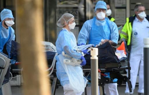 France carried out its first train evacuation of 20 coronavirus patients from the hard-hit east of the country