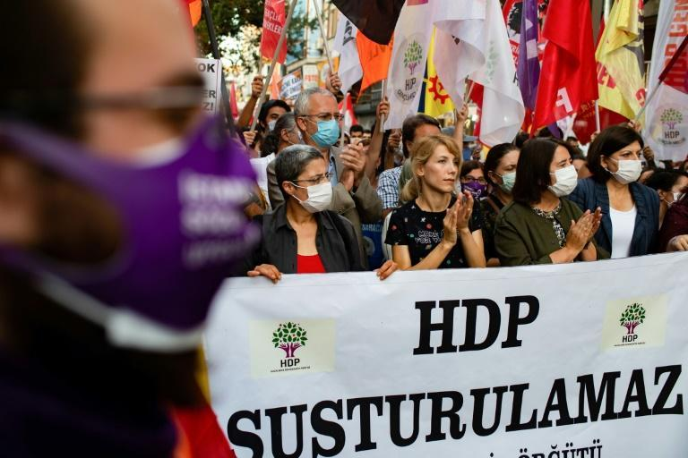Recept Tayyip Erdogan portrays the HDP as a political front for militants and thousands of its members have been arrested, despite the party's rejection of the accusations