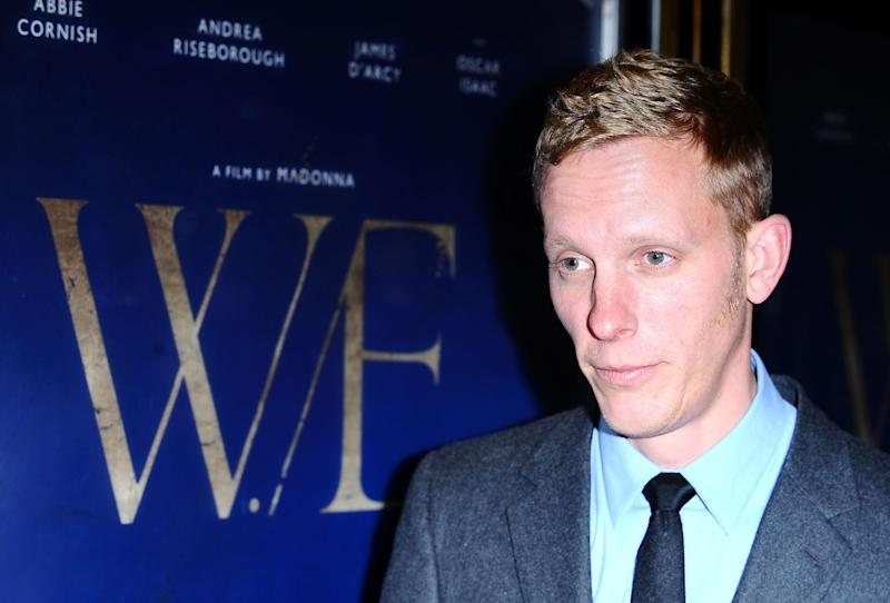 Laurence Fox arrives at the premiere of new film W.E at the Empire Cinema in London.