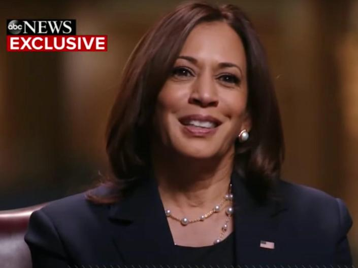 Kamala Harris on Good Morning America (YouTube/Good Morning America)