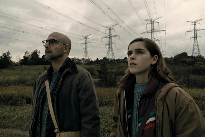 """<p>Kiernan Shipka stars as 16-year-old Ally Andrews, a young woman who lost her hearing at 13. Now the world is under attack by beings who hunt by sound (yes, kind of like <em>A Quiet Place</em>). Oh, and there's a cult who wants to exploit her heightened senses. It's just the sort of tense thriller you want for a Friday movie night.</p> <p><a href=""""https://www.netflix.com/title/81021447"""" rel=""""nofollow noopener"""" target=""""_blank"""" data-ylk=""""slk:Available to stream on Netflix"""" class=""""link rapid-noclick-resp""""><em>Available to stream on Netflix</em></a></p>"""