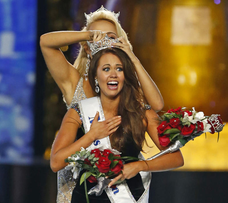 The Latest: Miss America Org. upset with Cara Mund's claims