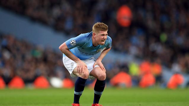 The Belgian playmaker has suffered a hamstring injury.