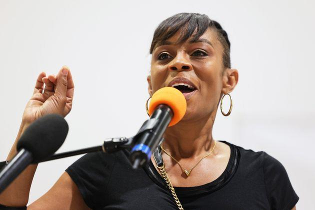 Shontel Brown, a Cuyahoga County councilwoman, won the special Democratic primary in Ohio's 11th Congressional District. She is the prohibitive favorite in the general election. (Photo: Michael M. Santiago/Getty Images)
